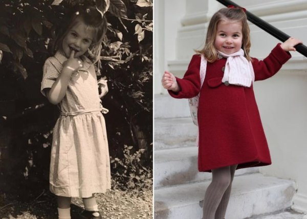 Princess Charlotte Identical To Lady Kitty Spencer In New Unseen Photo