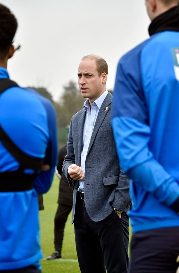 The Cheeky Gifts William Received For The Children While Visiting WBA As Part Of Mental Health Campaign