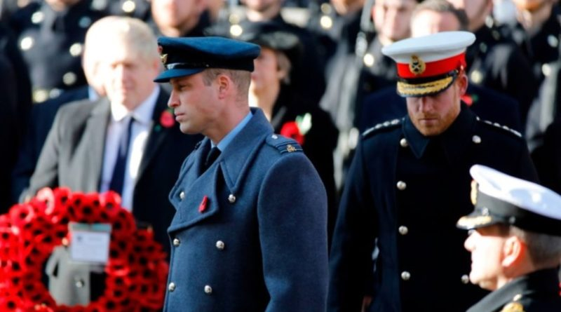 Why Harry Wore His Poppy Differently From The Rest Of The Royals