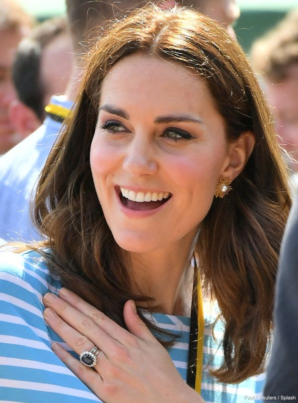 Why Duchess Kate Wears Three Rings On Her Wedding Finger