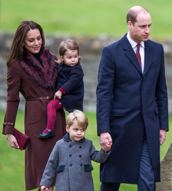 William Kate George Charlotte Christmas