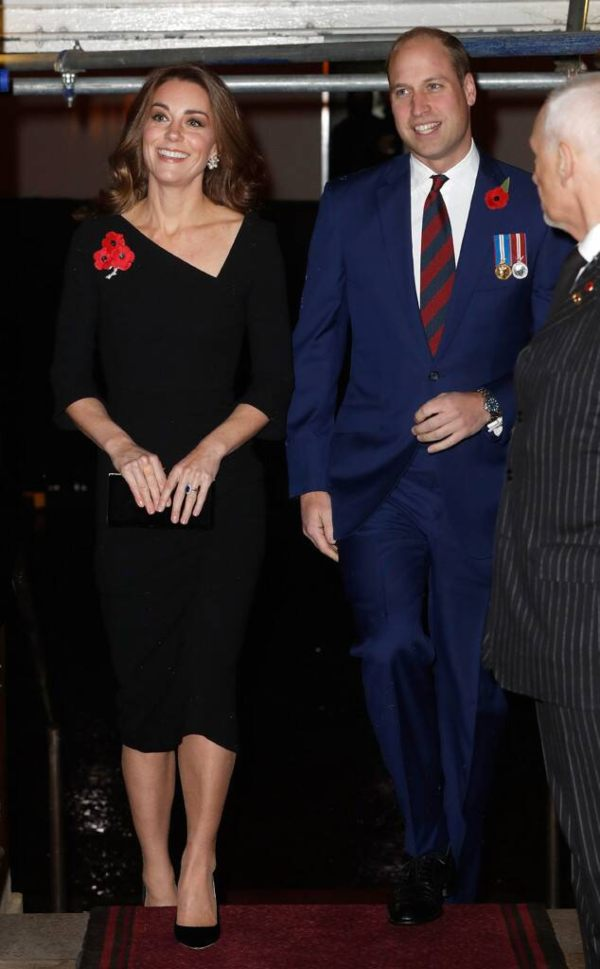 William and Kate Festival of Remembrance