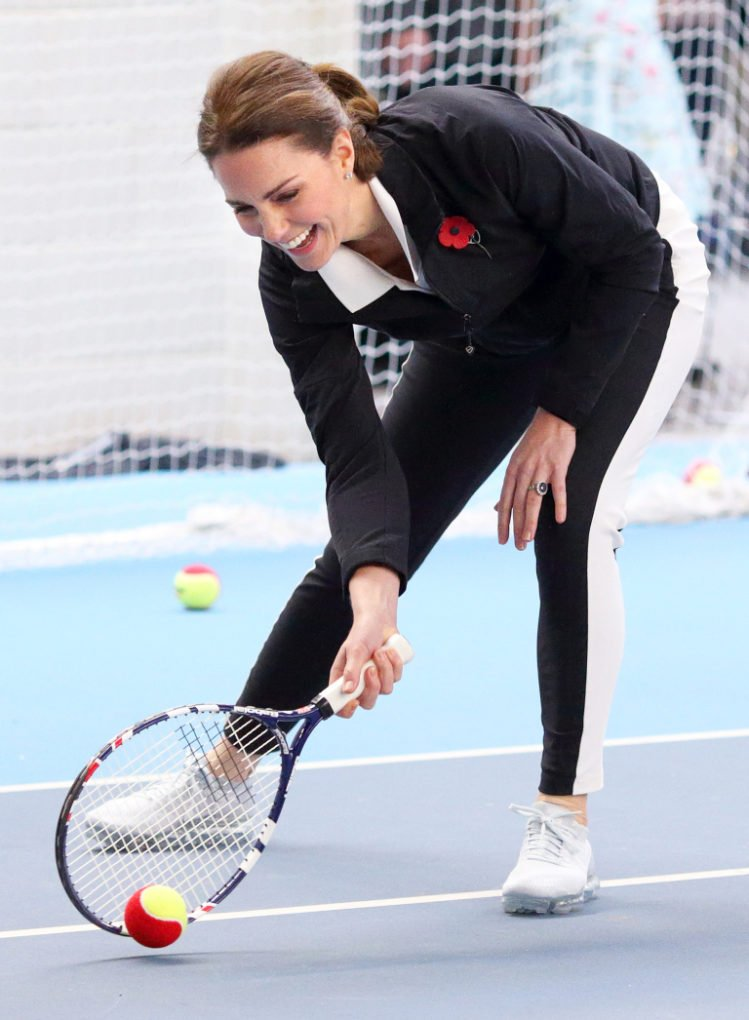 Kate Spotted Perfecting Her Favorite Sport At Exclusive London Club