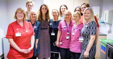 Kate Middleton's secret visit to Kingston Maternity Unit 5