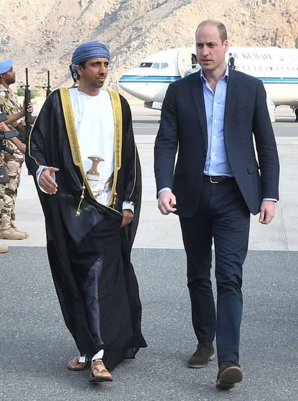 Prince William in Oman