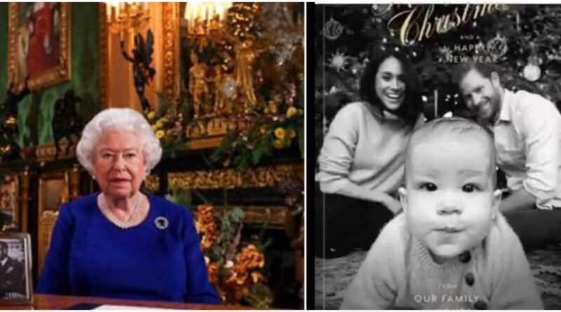 The Queen Showed Cute Photo Of Archie During Christmas Speech (1)
