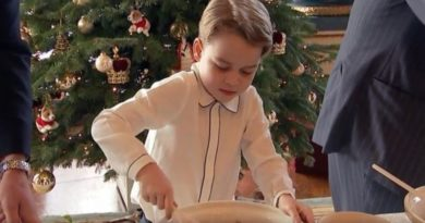 Video_ Prince George Giggles With The Queen As He Makes Christmas Pudding