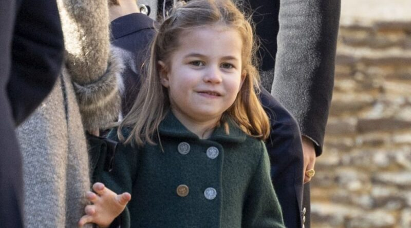 Watch Cheeky Charlotte Refusing To Give Her Flowers To A Royal Aide
