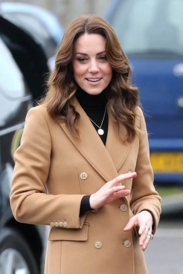 Duchess Kate Arrives At Cardiff Baby Sensory Class