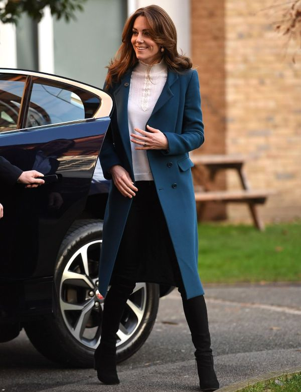 Duchess Kate Revealed Exciting News During Nursery Visit
