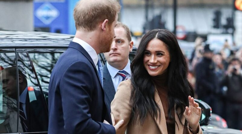 Harry And Meghan Back At Royal Duties With A Visit To Canada House