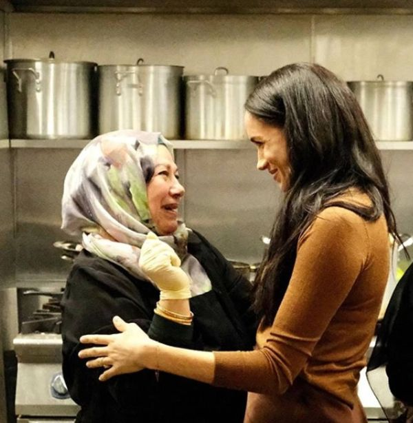 Harry And Meghan Share Photos Of Their Secret Visit To Hubb Community Kitchen