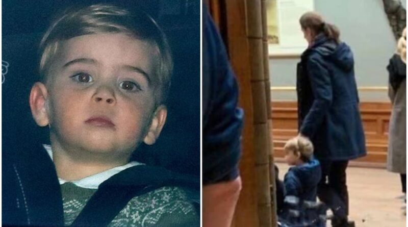 Prince Louis Spotted Enjoying A Day Out At Natural History Museum
