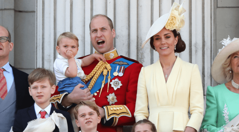 Prince Louis at Trooping the Colour