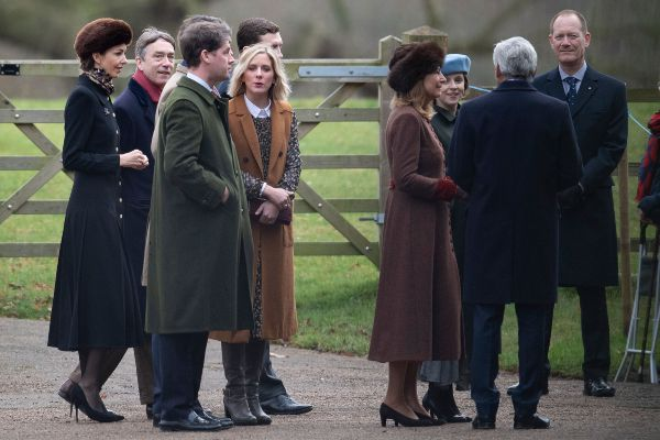 Kate Makes Surprise Appearance At Church With William Ahead Of Her Birthday