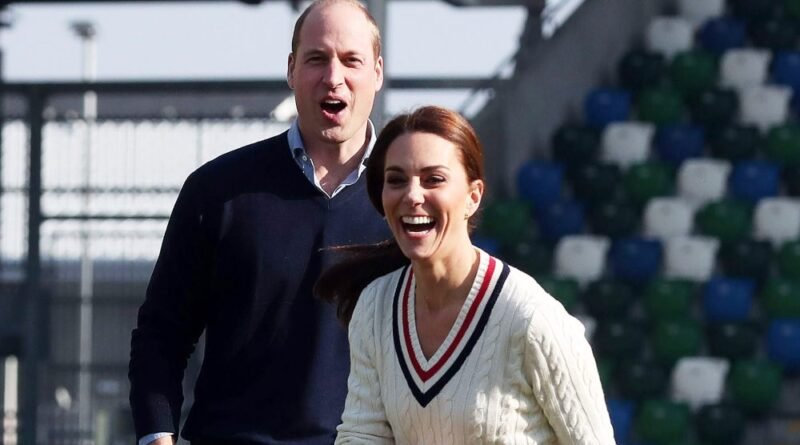 William Admits He Can't Beat Wife Kate In Tennis