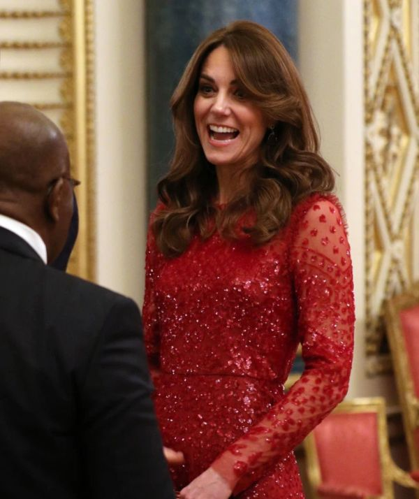 William And Kate Host Buckingham Palace Reception