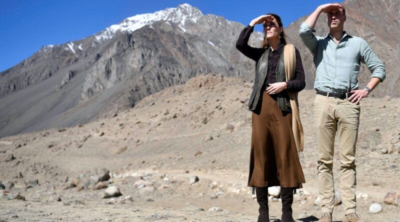 prince william and kate middleton visit pakistans mountain