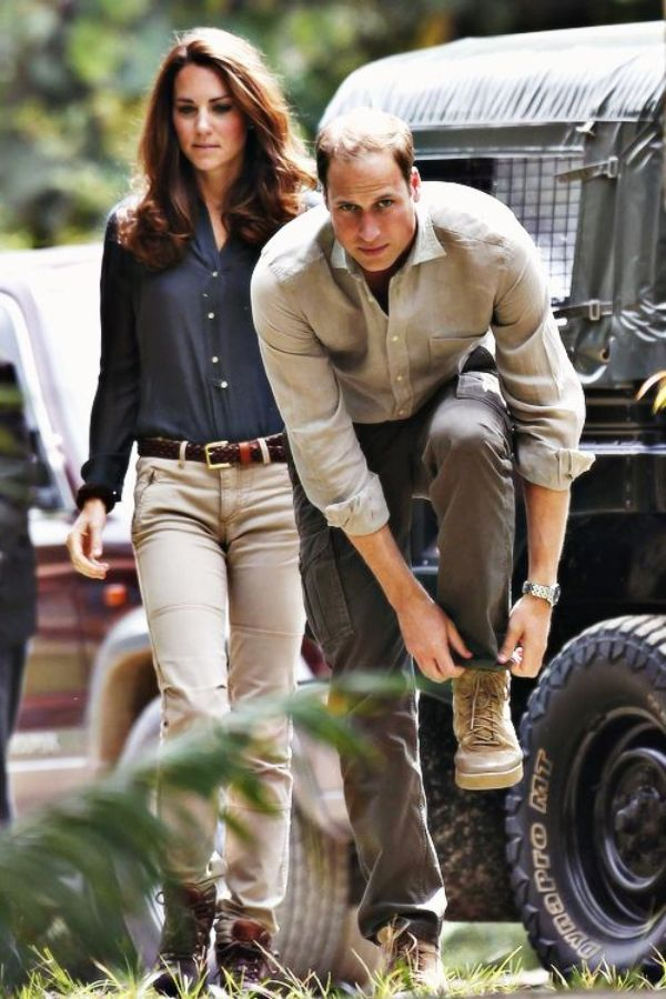 william and kate in africa