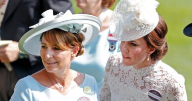 Kate's Mom Carole Middleton Shows Public Support For Her Work