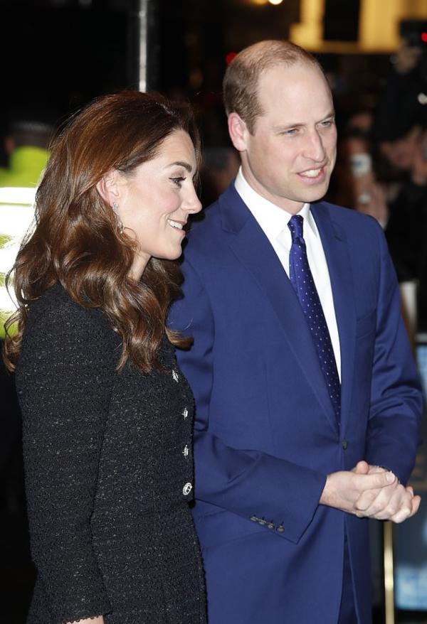 Prince William And Kate Attend Dear Evan Hansen