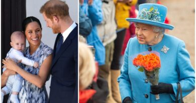 The Queen Showed Cute Photo Of Archie During Christmas Speech