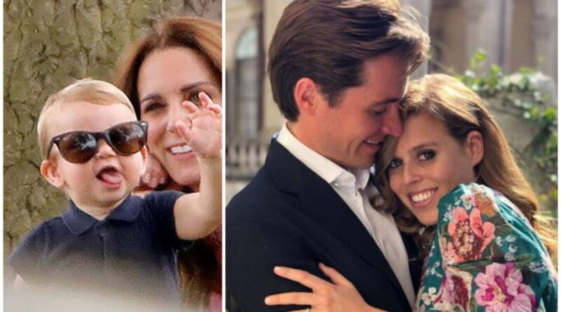 Will Prince Louis Be A Pageboy At Princess Beatrice Wedding