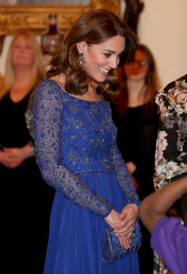Kate Revealed Prince Louis Favorite Song During Reception For Place2Be