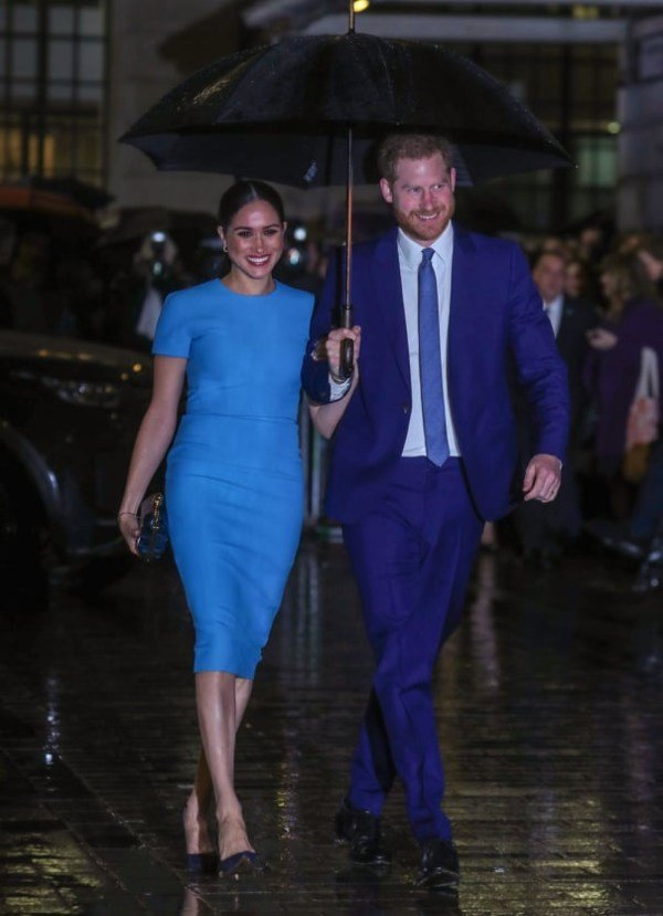 Prince Harry And Meghan Step Out To Attend Endeavour Fund Awards