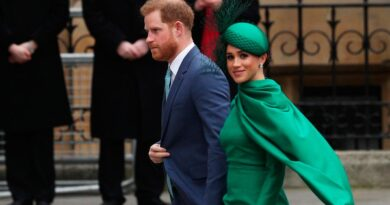 Prince Harry and Meghan Markle at Commonwealth Day service at Westminster Abbey