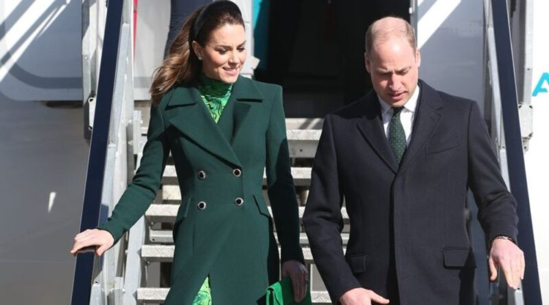 Prince William And Kate Touched Down In Ireland For Three-Day Tour
