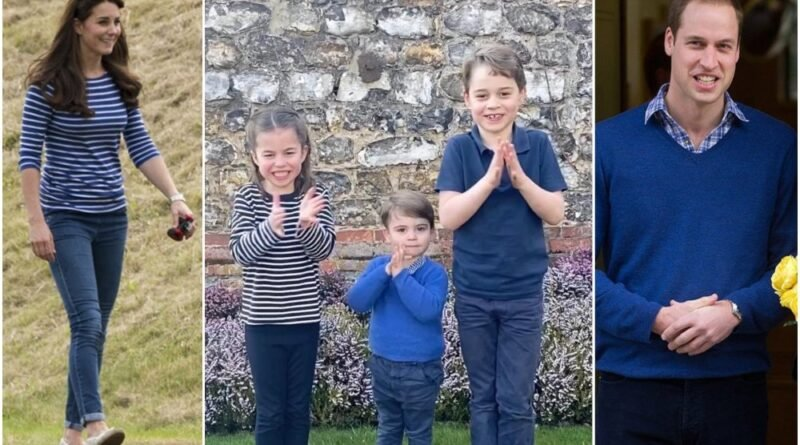 Royal Fans Notice Interesting Detail In George, Charlotte And Louis Video