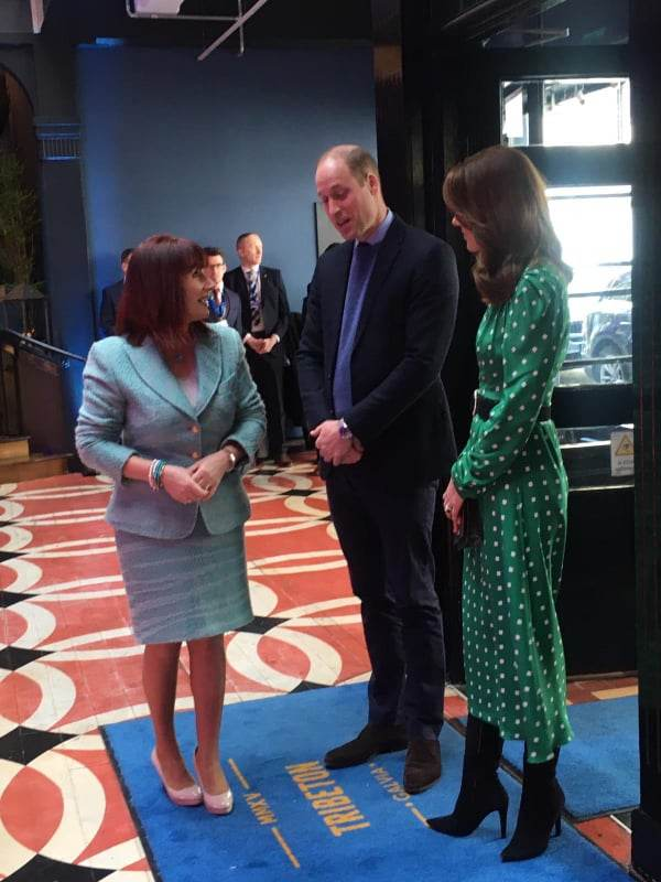 William And Kate Arrive Late In Galway After Helicopter Issue