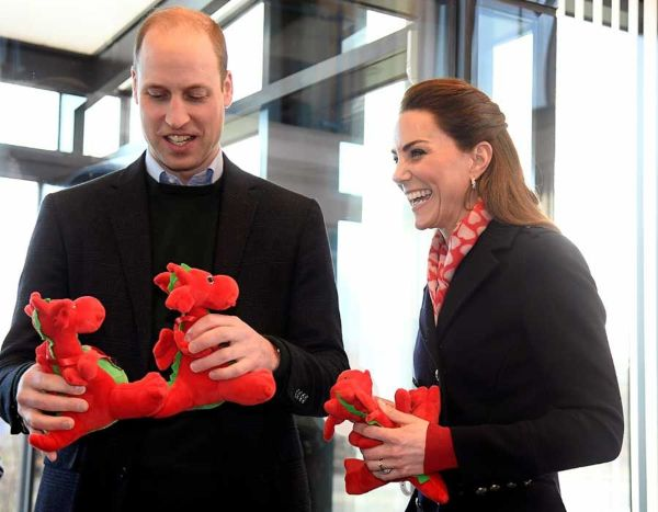 William And Kate mark St David's Day