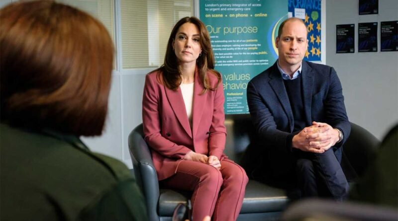 Prince William And Kate Visited NHS Centre Amid Coronavirus Pandemic