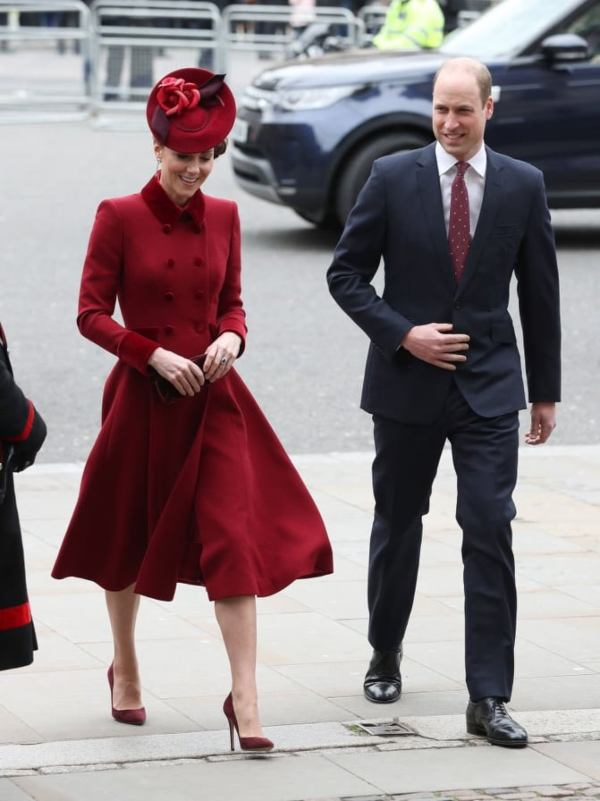 William and Kate Commonwealth Day Service 2020