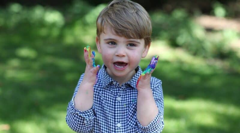 New Photos Of Prince Louis Released To Mark His 2nd Birthday
