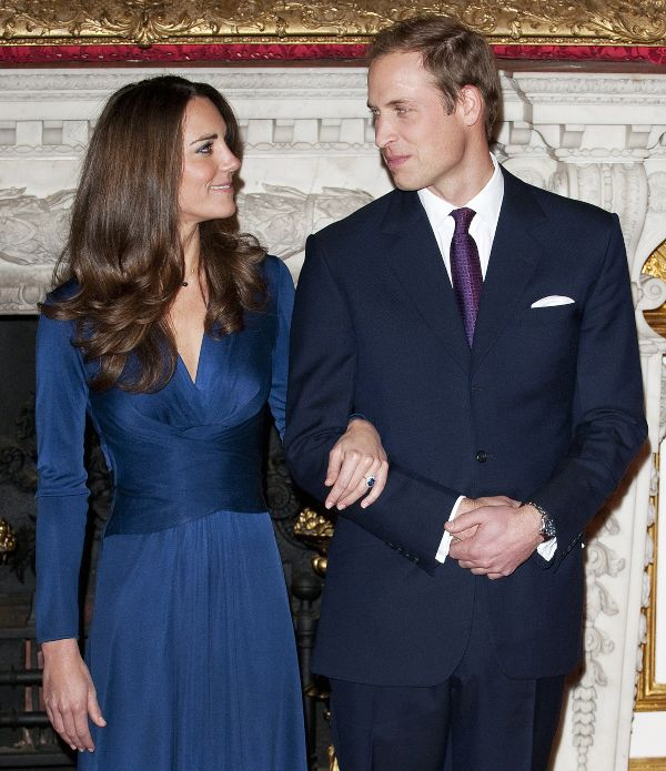 Prince William and Kate 2010 engagement