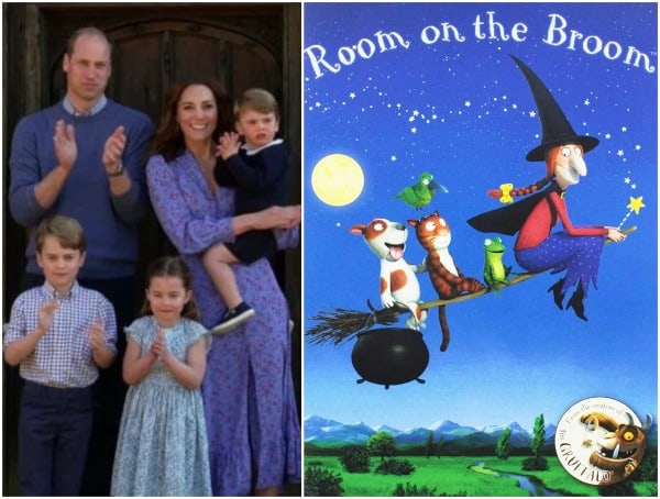 Prince William and Kate Middleton are fans of Room On The Broom