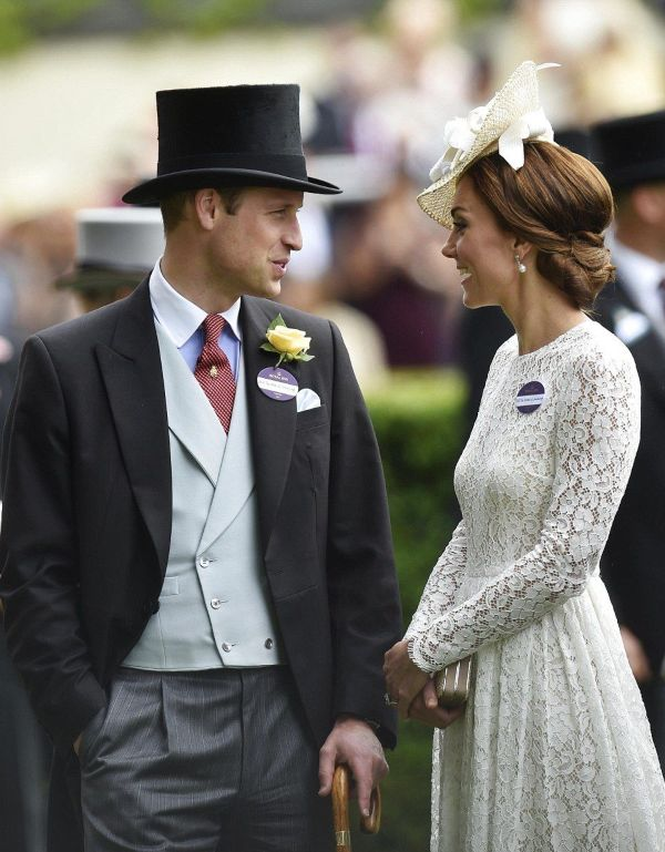 Prince William and Kate Royal Ascot