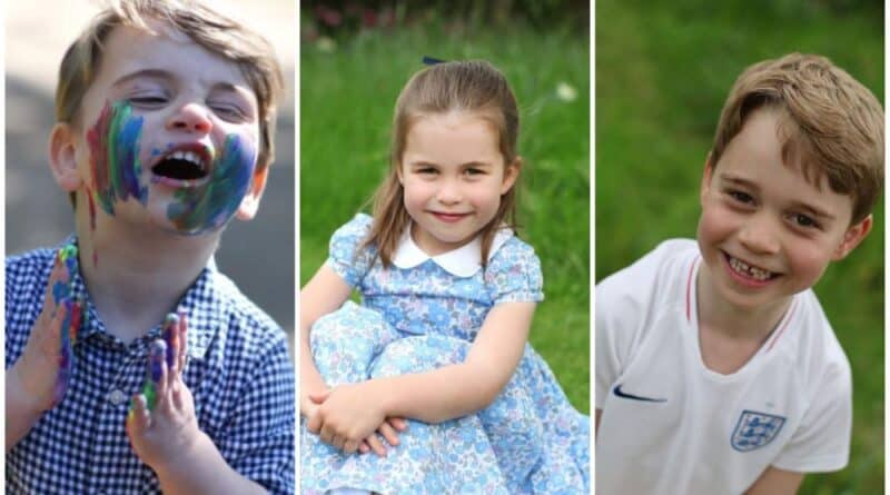The Secrets Behind Kate's Photos Of Her Children George, Charlotte And Louis