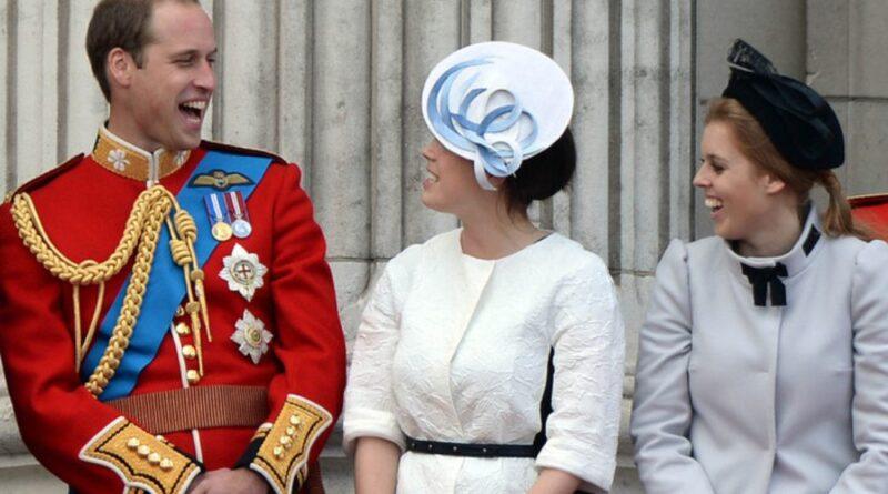 William, Beatrice and Eugenie 1