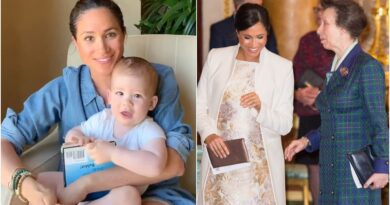 How Harry And Meghan Made Sweet Nod To Princess Anne With Archie Birthday Video