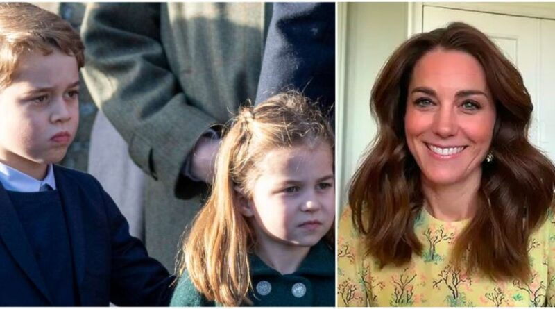 Kate Reveals Why George Was Jealous Of Sister Charlotte