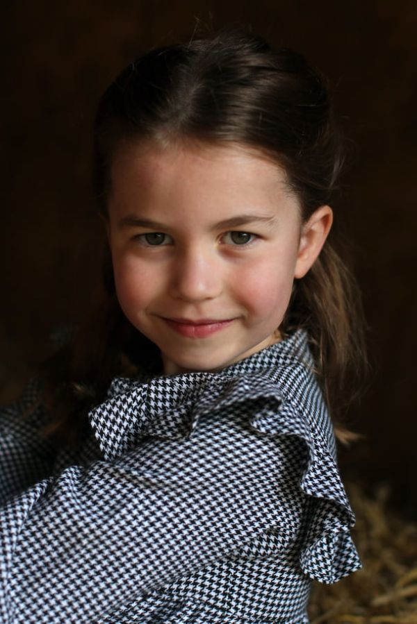 New Photos Of Princess Charlotte Released To Mark Her 5th Birthday