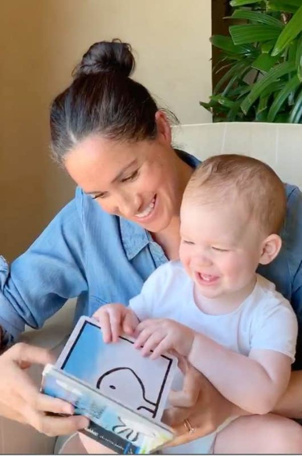 New Video Of Meghan Reading To Archie Released To Mark 1st Birthday