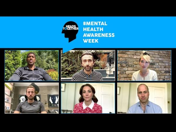 Prince William and Kate record a special message in honour of Mental Health Awareness Week
