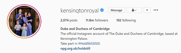 Prince William And Kate Just Made Major Change To Their Social Media Accounts