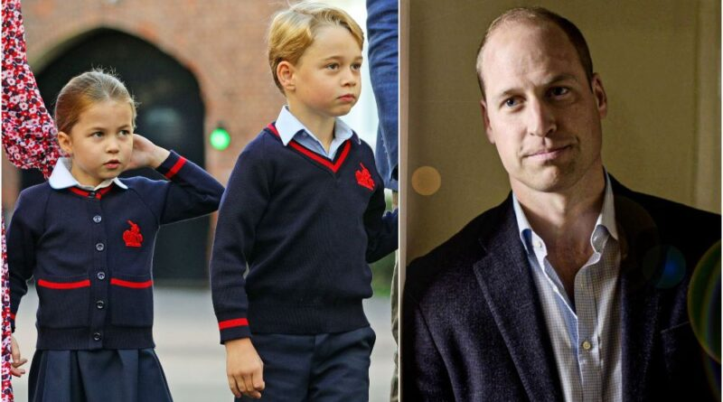 William Reveals One Struggle He Has With Homeschooling George And Charlotte
