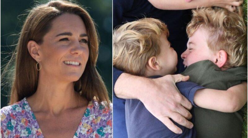 Duchess of Cambridge visits the Nook children hospice garden